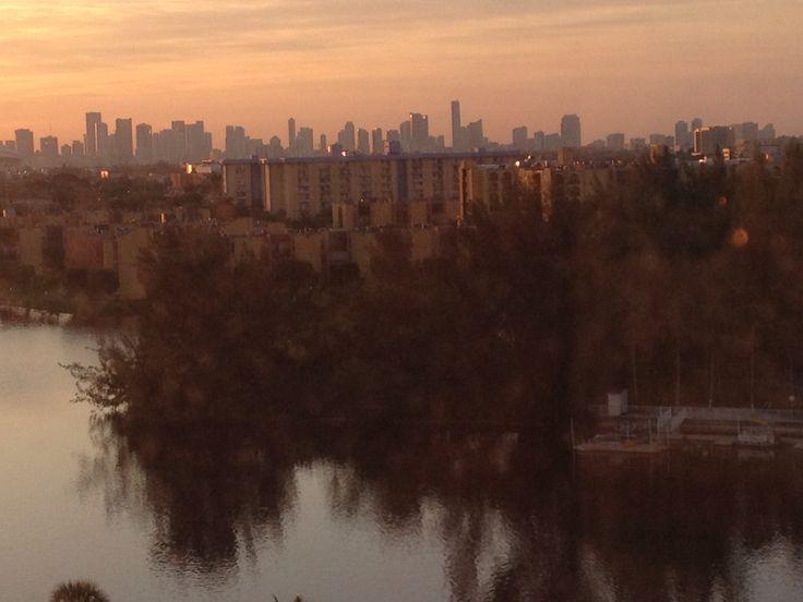 Miami al amanecer