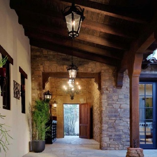 Ranch and Spanish style
