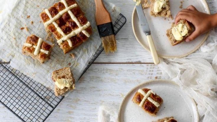 Hungry and Fussy's gluten-free hot cross buns (suitable for Thermomix)