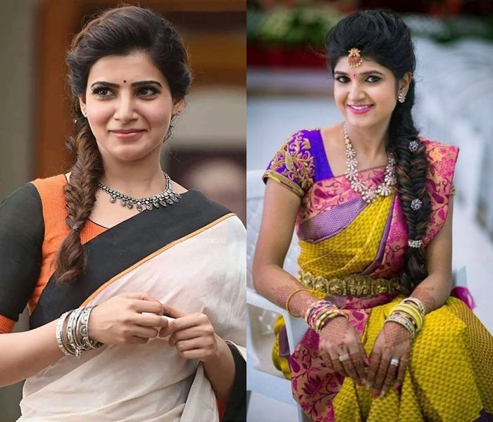 10 Most Flattering Traditional Hairstyles For Sarees Keep Me Stylish Traditional Hairstyle Saree Hairstyles Hair Styles