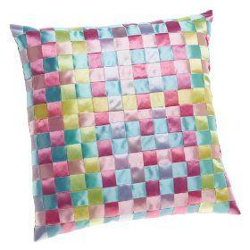 Easy Woven Ribbon Pillows
