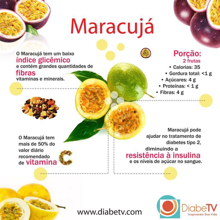 Maracujá: fruta permitida para diabeticos                                                                                                                                                     Mais