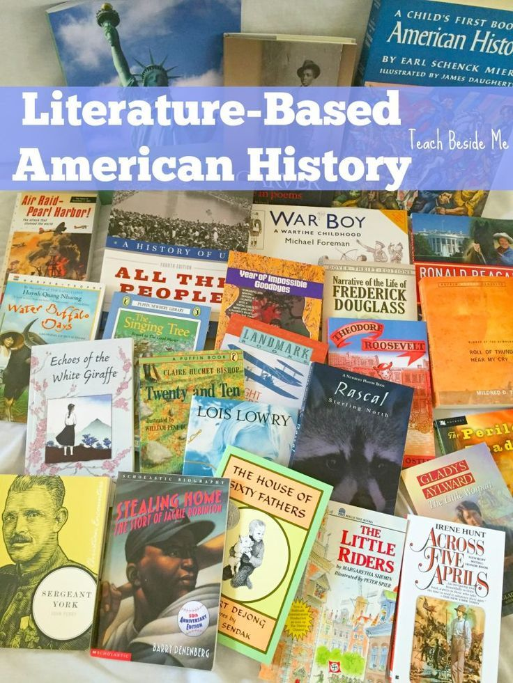 Literature-based American history curriculum for homeschool