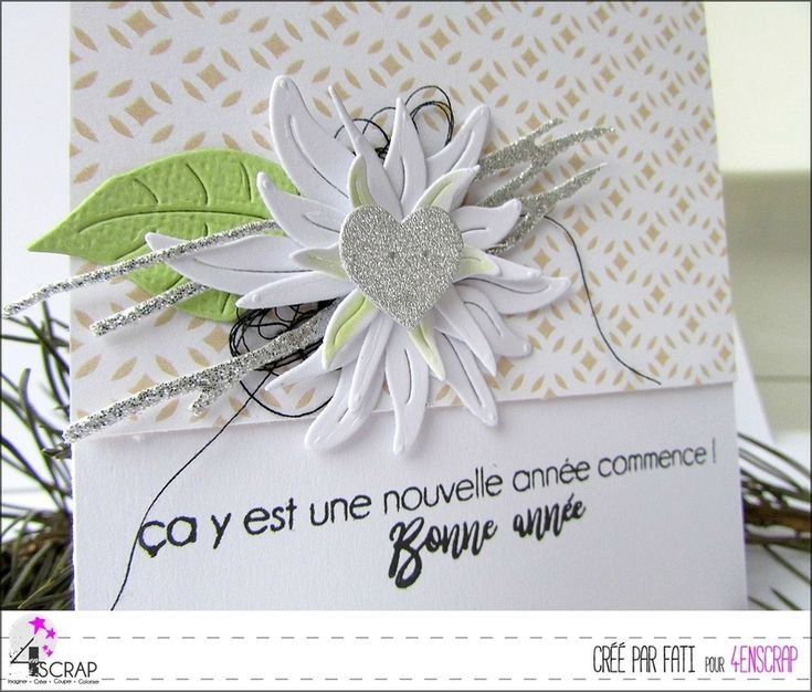 """Fati : Tampons et matrices de coupe (dies) #4enSCRAP """"Petits mots"""""""