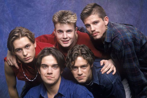 Take That. From Manchester an one of the biggest boy bands of all time!