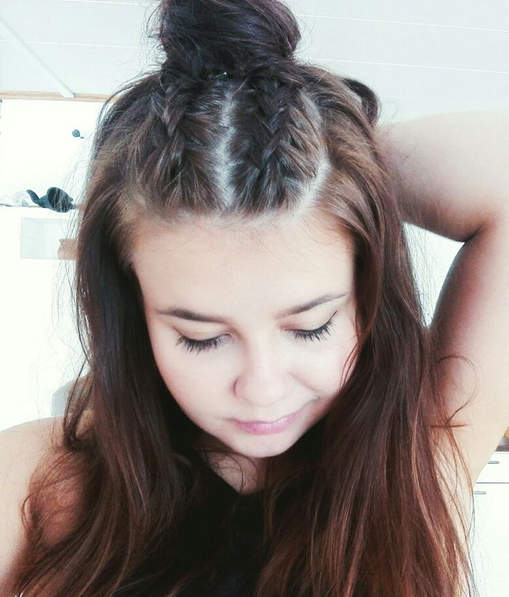 #halfbun #dutchbraid #braids #hairstyle #hairinspiration #hairstyleideas #hotd #arkitukka
