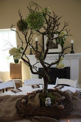this baby shower is SO cute. Love the tablescapes...love the food table....lots of reat ideas