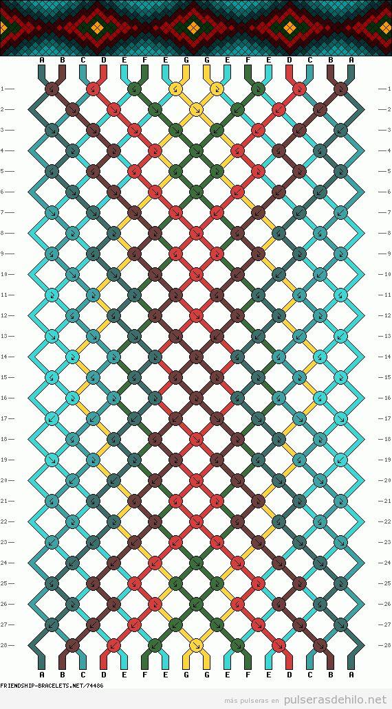 Más de 1000 ideas sobre Pulseras De Hilo en Pinterest