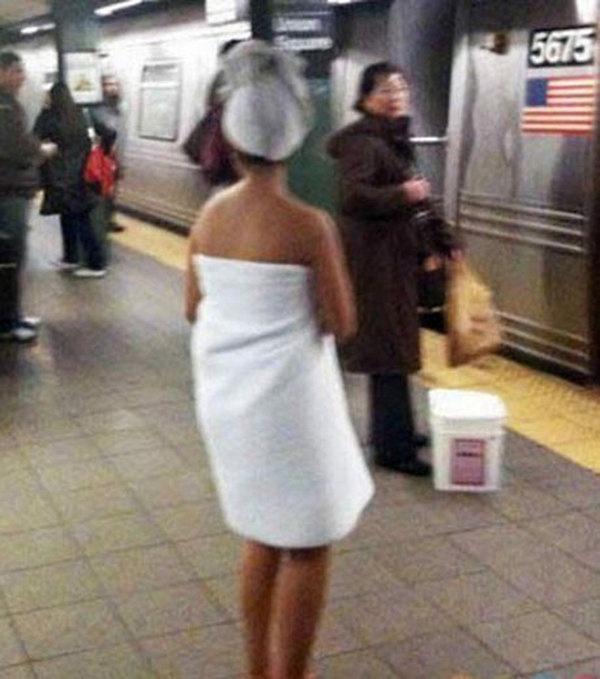 Les voyageurs les plus étranges du métro newyorkais