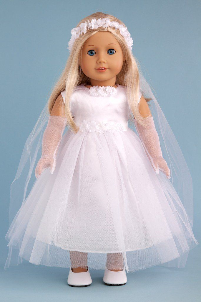 Little Angel Toys : Amazon little angel white satin and tule first