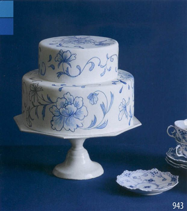 Wedding Cakes Inspired By China Patterns: 73 Best Images About Blue & White China Wedding
