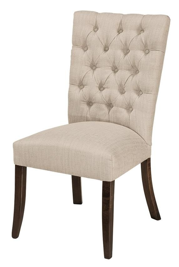 Amish Alana Parsons Dining Chair  LaGrange Amish Chair Collection  The Amish Alana Parsons Dining Chair offers an elegant and formal fashion for your dining room furniture collection. Parsons chair is definitely comfortable with its cushions.