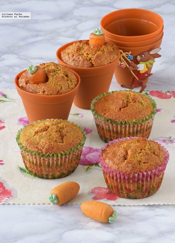 Te explicamos paso a paso, de manera sencilla, la elaboración del postre muffins de zanahoria y almendra. Ingredientes, tiempo de elaboración