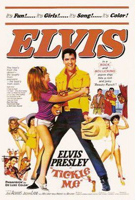 Tickle Me is a 1965 American musical comedy film starring Elvis Presley as a champion rodeo bull-rider and bronco-buster. #18