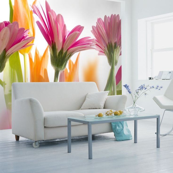 Svieže farby a krásne kvety na fototapete | DIMEX