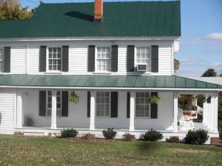 White House With Green Metal Roof Google Search Green