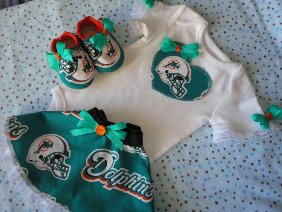 Miami Dolphins Baby  girl Apparel | Add it to your favorites to revisit it later.