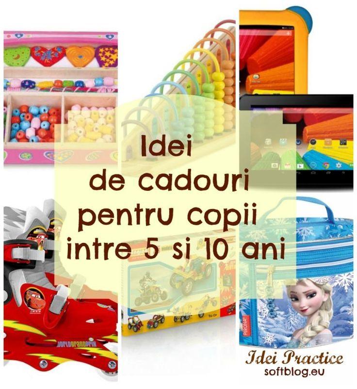 Idei de cadouri pentru copii intre 5 si 10 ani