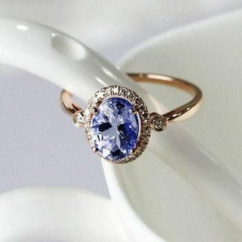17 Best ideas about Gemstone Engagement Rings on Pinterest