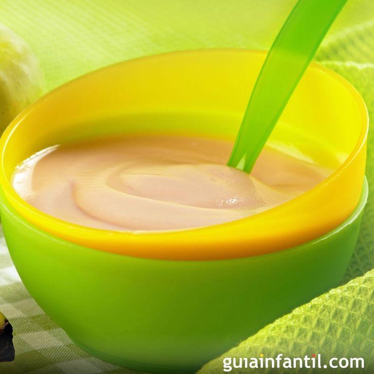 La variedad en la dieta del bebé es imprescindible. Con esta papilla de plátano, pera y naranja te asegurarás de que crezca sano y fuerte.