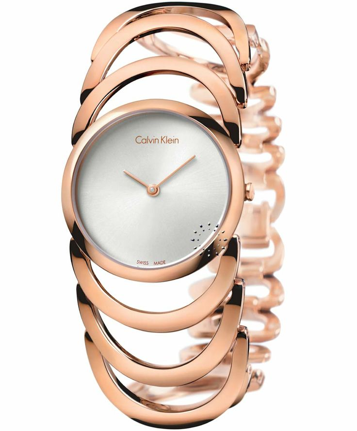 Calvin KLEIN Body Rose Gold Stainless Steel Bracelet Τιμή: 282€ http://www.oroloi.gr/product_info.php?products_id=37963