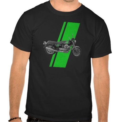 Moto Guzzi - 1000S Vintage Green Tshirts
