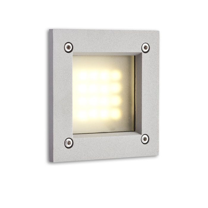 ATRIA LED | rendl light studio | Recessed wall light in lacquered aluminum with a built-in 3W LED light source. #lamp #design #bathroom