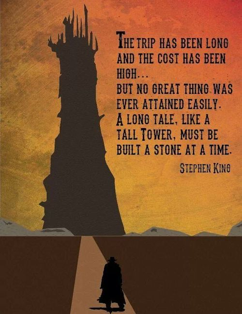 The Dark Tower/Stephen King- poster created by Spencer Bonez