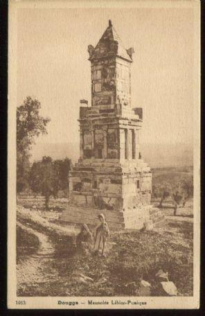 LTL Postcard, Tunisie - Dougga. Mausolée Libico-Punique, 1013