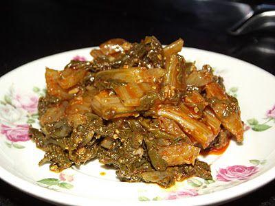 צֶרְמֶלָה: סלט עלי סלק (מנגולד) מרוקאי