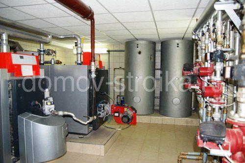 Системы отопления загородного дома.