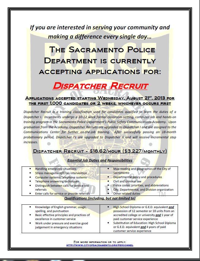 Más de 25 ideas increíbles sobre Police departments hiring en - dispatcher duties