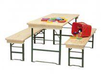 Hoppers klaptafels in kindermaat.