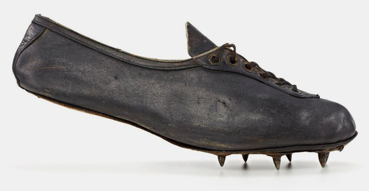 georg lammers – 'modell waitzer' – 1928, sprint shoe worn at the olympic games in amsterdam