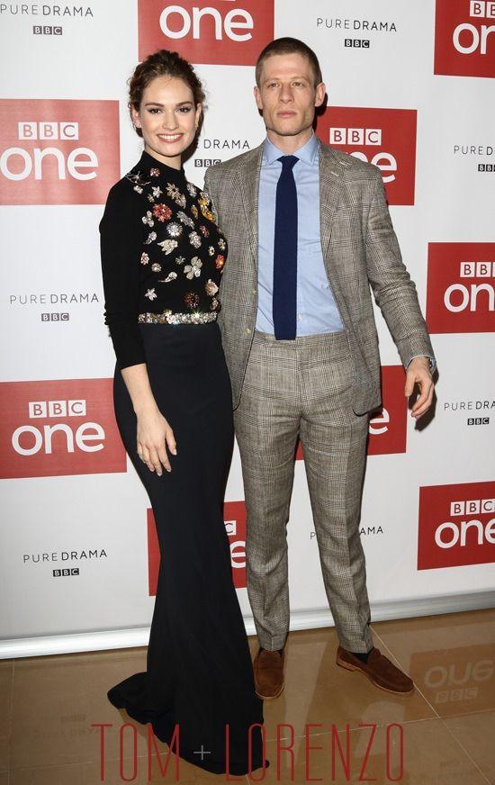 Lily-James-James-Norton-BBC-War-Peace-TV-Series-Photo-Call-Fashion-Alexander-McQueen-Tom-Lorenzo-Site (8)