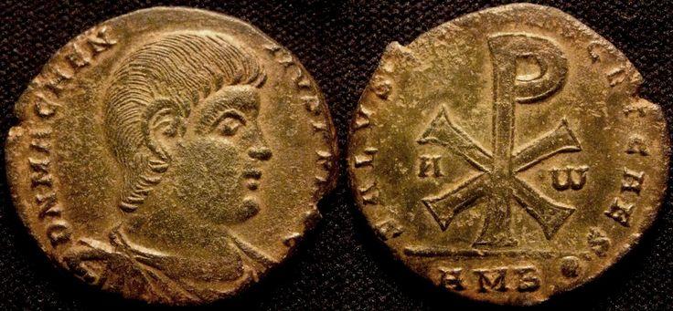 10415 Magnentius 350 353 Ad Ae Double Centenionalis 7
