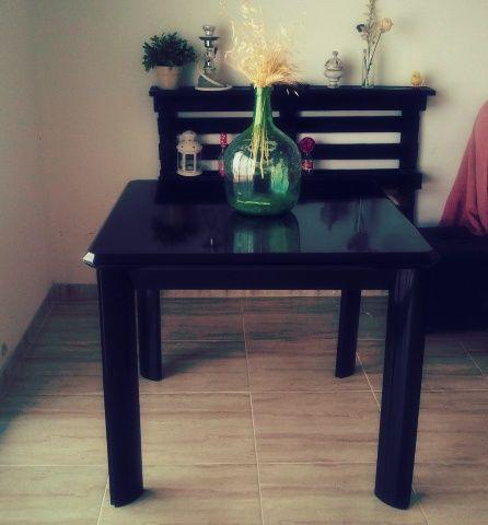 table, mesa, black, restauracion, decoracion