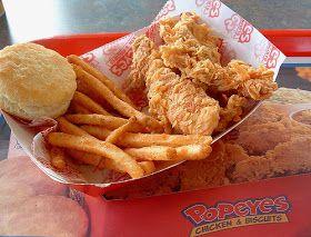 Popeye's Restaurant Copycat Recipes: Fried Chicken Strips
