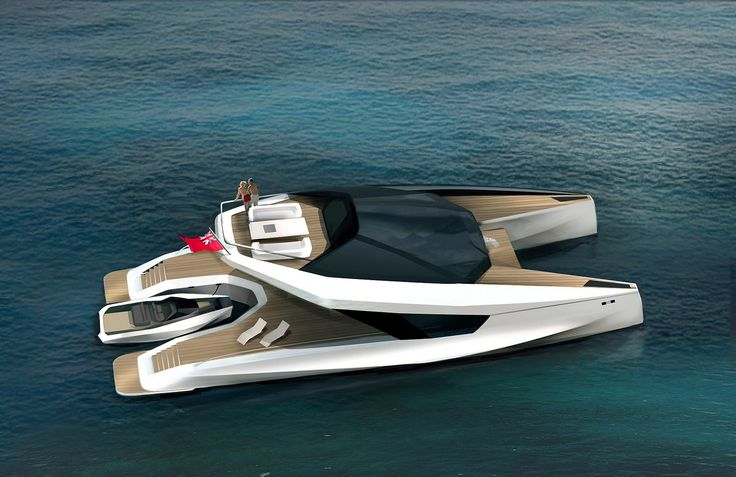 Peugeot Design Lab 115ft Power Catamaran Concept for JFA Yachts