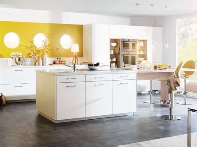 Les 25 meilleures id es de la cat gorie murs de la cuisine jaune sur pinteres - Decoration de cuisine ...