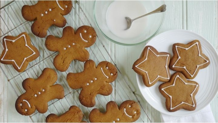 Gingerbread - These are great for children to help make and are ideal after school snacks...
