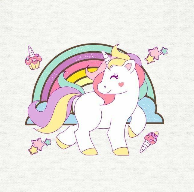 Pin Oleh Mohd Suhairi Pada Lukisan: Unicornio Animados, Dibujos De