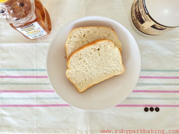 White Loaf Bread on rubyparkbaking.com