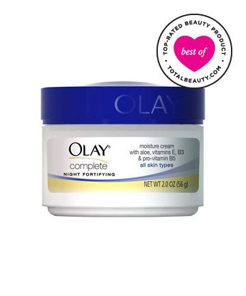 Best Night Cream No. 6: Olay Complete Night Fortifying Moisture Cream, $6.49