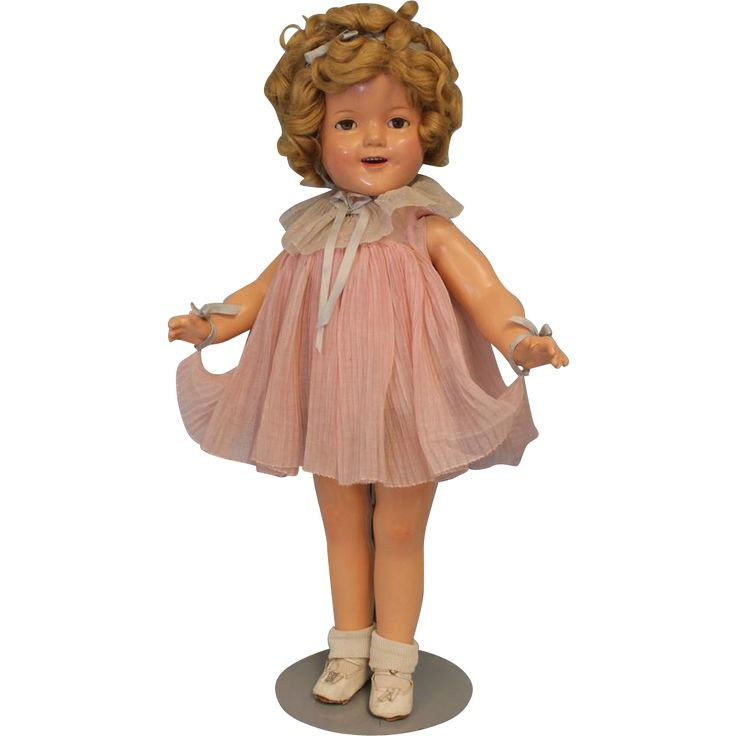 22 Quot Composition C 1935 Shirley Temple Doll Quot Baby Take A
