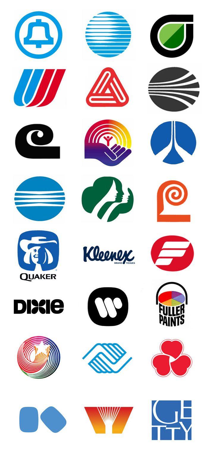 os #logotipos de #SaulBass