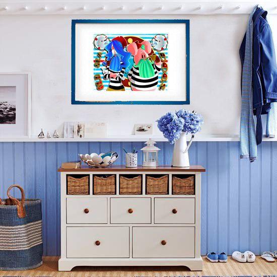 DOWNLOAD ISTANTANEO. Poster Old Sea Dogs colori di julioroberts