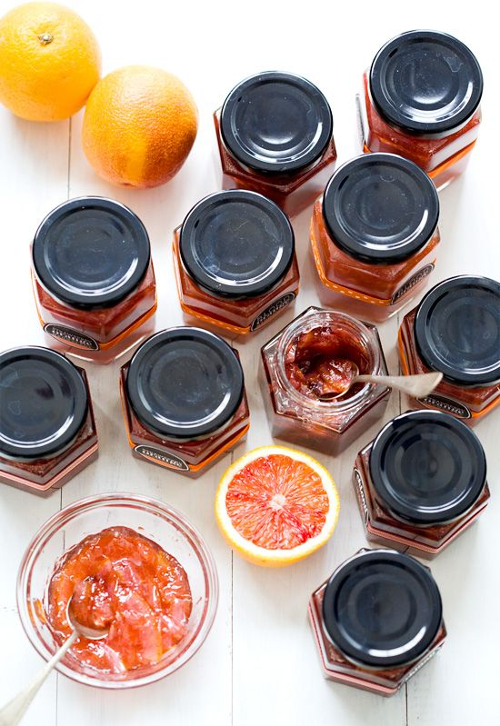 Blood Orange, Strawberry Blood Orange, Chianti Blood Orange Marmalade