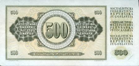 Jugoslovanski denar, nostalgija 10.fotka