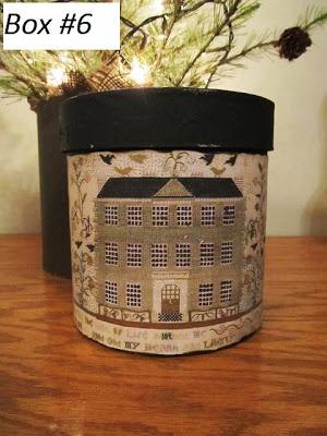 Samplers and Santas: Sampler Boxes